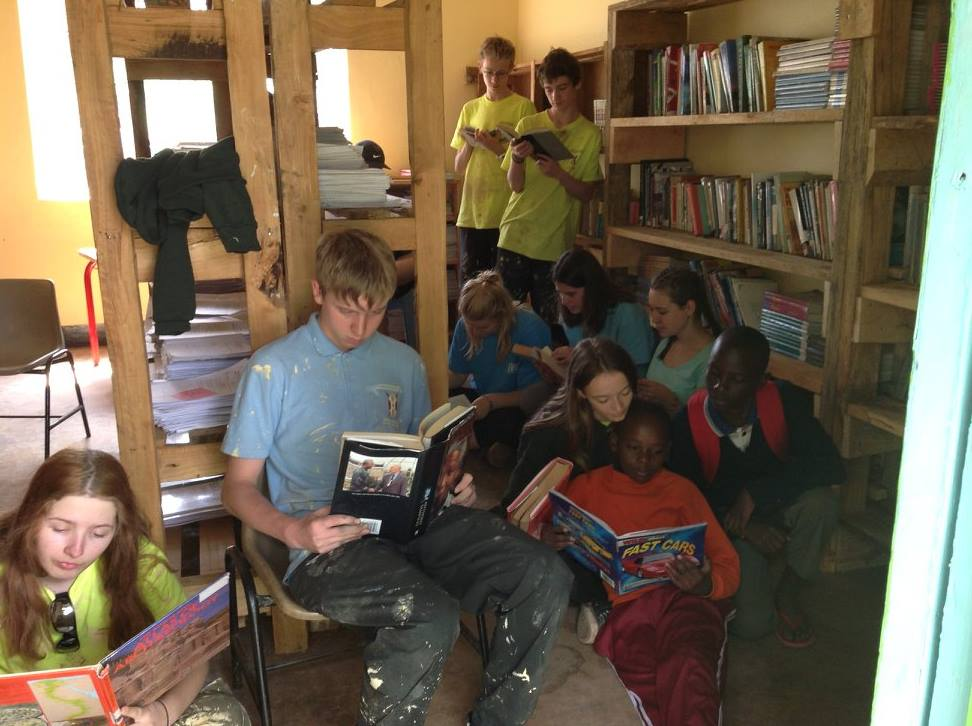 STUDENTS FROM ASHTON PARK SCHOOL FACILITATE SENDING BOOKS TO TANZANIA